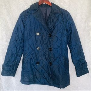 UNIQLO DOUBLE-BREASTED QUILTED JACKET - S